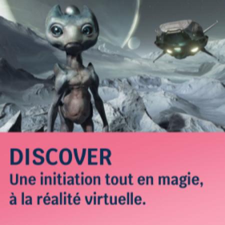 Espace découverte de la réalité virtuelle